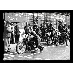 Isle of Man TT Race Start - A3 Poster / Print