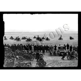 Sand Racing at Pendine - A3 Poster / Print
