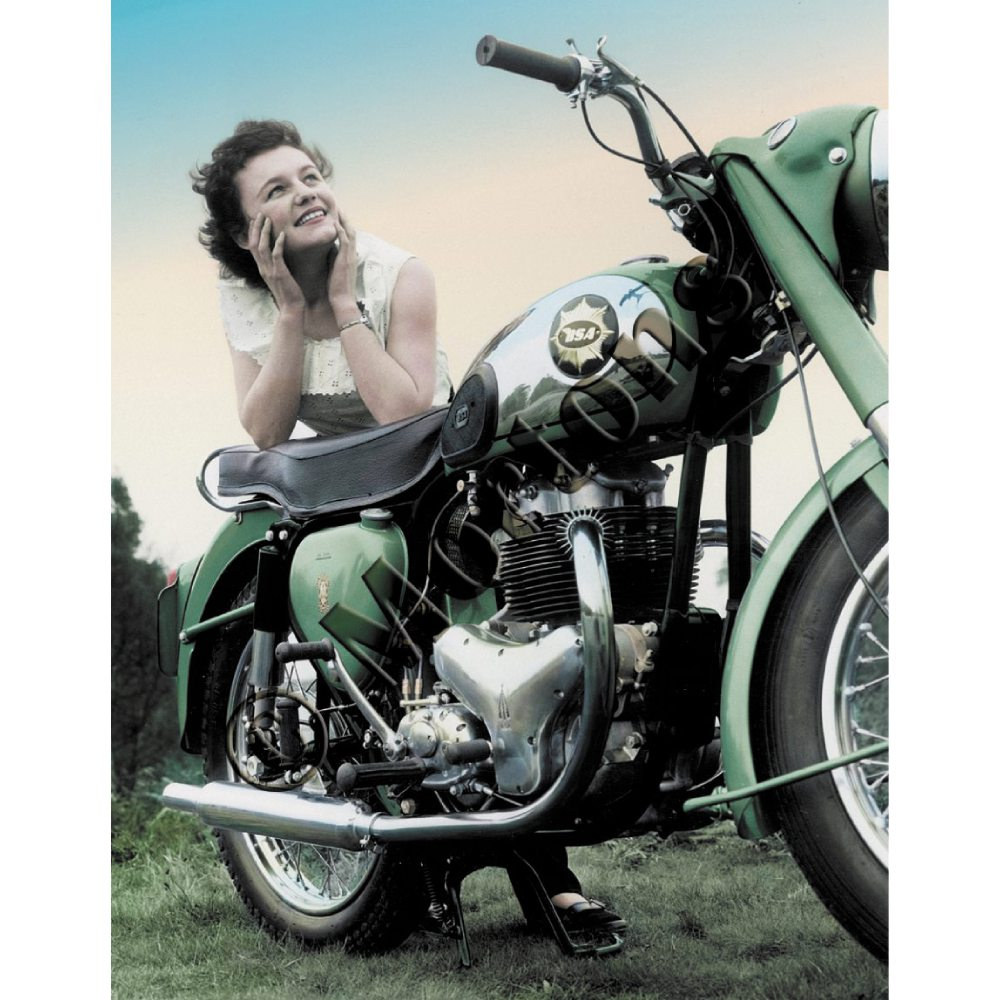 BSA A7 Shooting Star - A3 Poster / Print