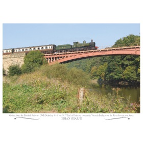 Poster Severn Valley GWR ''Dukedog'' No. 9017 A3 Poster