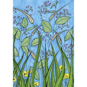 Calming Art - Catherine Gray - Print - Field - A3 Print