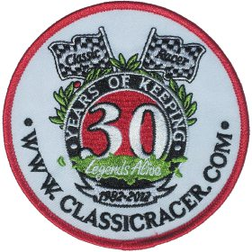 CR 30th Anniversary Woven Badge
