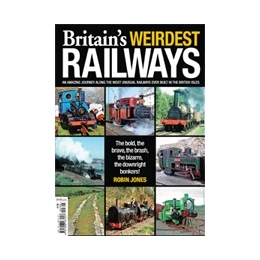 Britain's Weirdest Railways by Robin Jones (Bookazine)