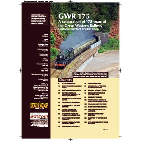 Great Western Railway: 175 Glorious Years by Robin Jones (Bookazine)