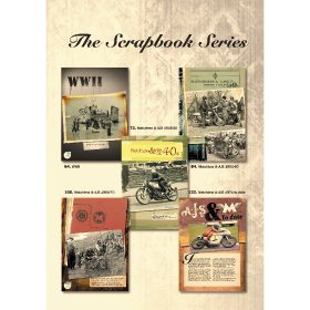 The Scrapbook Series: AJS & Matchless by James Robinson (Bookazine)