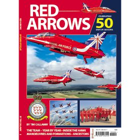 Red Arrows: Celebrating 50 Display Seasons by Tim Callaway (Bookazine)