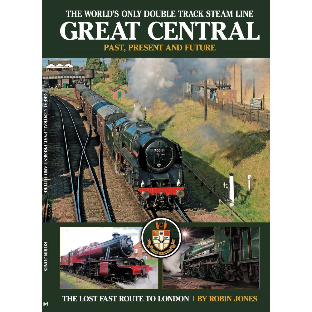 Great Central Railway by Robin Jones (Bookazine)