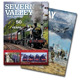 Bookazine - Bundle - Severn Valley Railway + D-Day Overlord