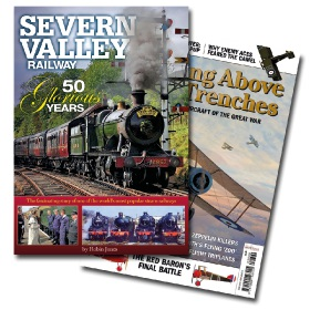 Bookazine - Bundle - Severn Valley Railway + Duelling Above The Trenches