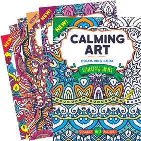 Bookazine - Calming Art Collectors Series Bundle