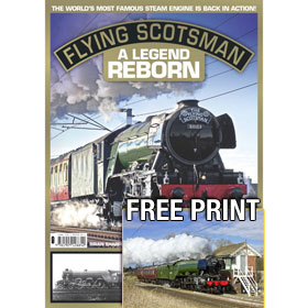 Bookazine - Flying Scotsman - The Legend Reborn and A4 Print