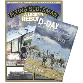 Bookazine - Bundle - Flying Scotsman + D-Day Overlord