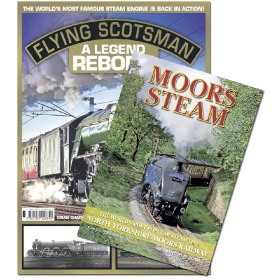 Bookazine - Bundle - Flying Scotsman + Moors Steam