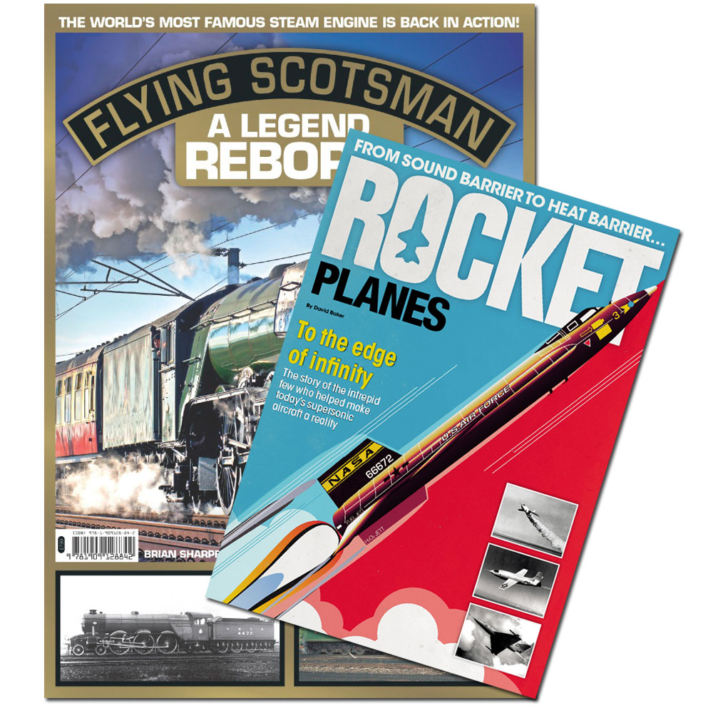 Bookazine - Bundle - Flying Scotsman + Rocket Planes