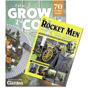 Bookazine - Bundle - Let's Grow and Cook + Rocket Men