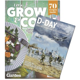 Bookazine - Bundle - Let's Grow and Cook + D-Day Overlord