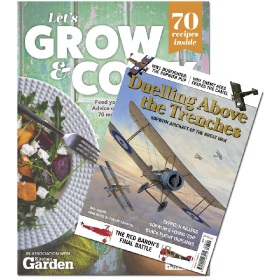Bookazine - Bundle - Let's Grow and Cook + Duelling Above the Trenches