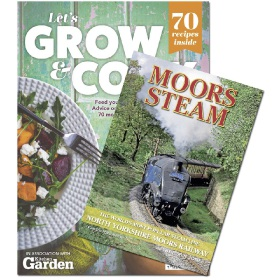 Bookazine - Bundle - Let's Grow and Cook Moors Steam