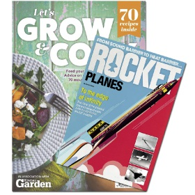 Bookazine - Bundle - Let's Grow and Cook + Rocket Planes