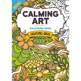 Bookazine - Calming Art Collectors Series Bundle Books 13-16