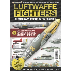 Bookazine - Luftwaffe Fighters - German WW2 Designs by Claes Sundin