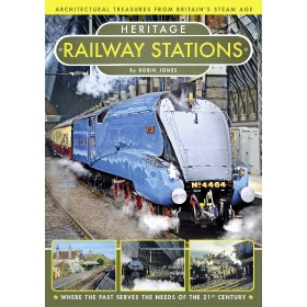Heritage Railway Stations - Book (Bookazine)