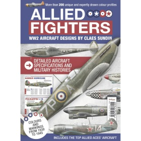 Allied Fighters of WW2 - Book (Bookazine)