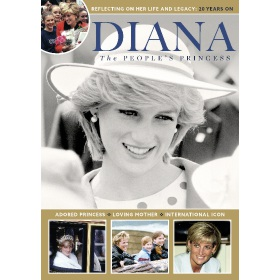 Diana - The People's Princess - Book (Bookazine)