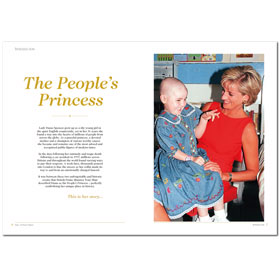 Bookazine - Diana - The People's Princess