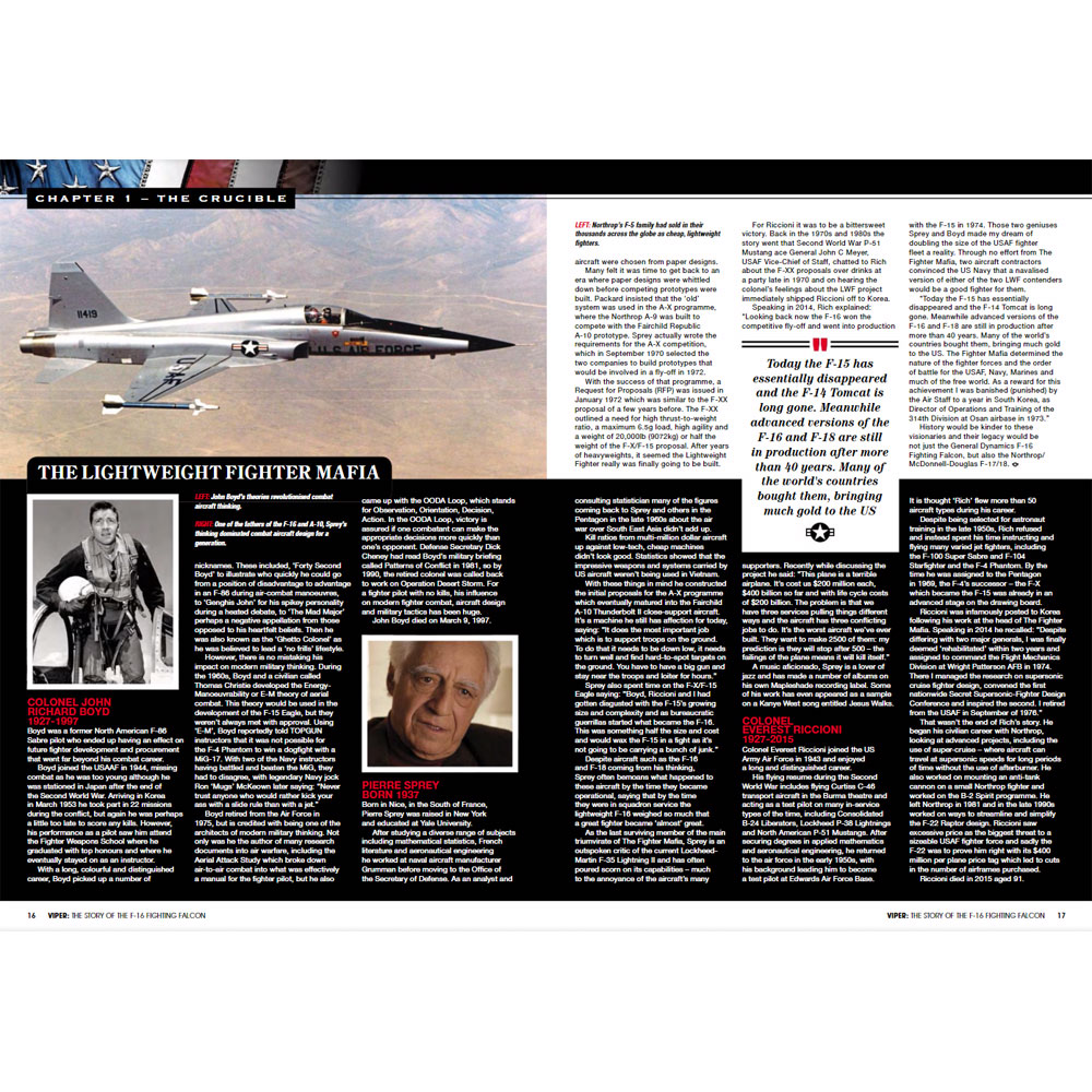 Bookazine - F-16 Fighting Falcon