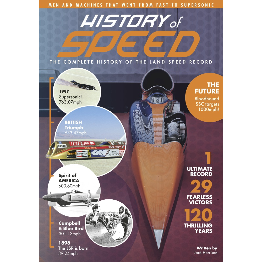 History of Speed - Bookazine