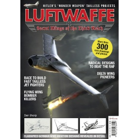 Luftwaffe - Secret Wings of the Third Reich - Book (Bookazine)