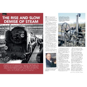 Bookazine - The End of Steam - Book