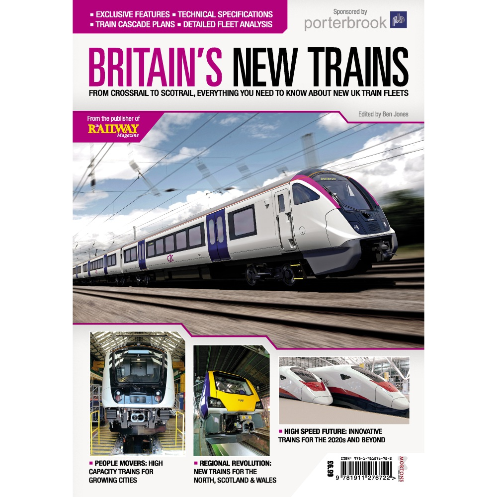 Bookazine - Britain's New Trains