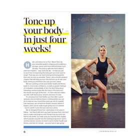 Bookazine - Womens Fitness: 4-Week Tone Up