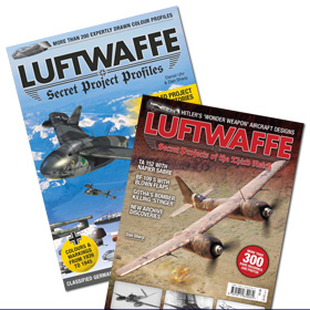 Bundle - Luftwaffe: Secret Projects of the Third Reich & Luftwaffe: Secret Project Profiles