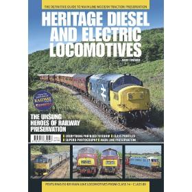 Heritage Diesel and Electric Locomotives - Bookazine