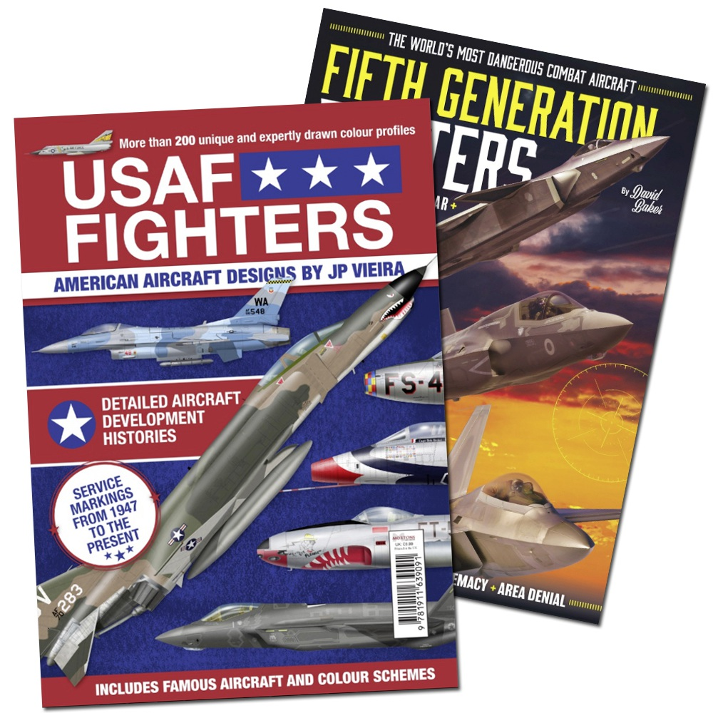 Bookazine - Bundle: USAF Fighters + Fifth Generation Fighters