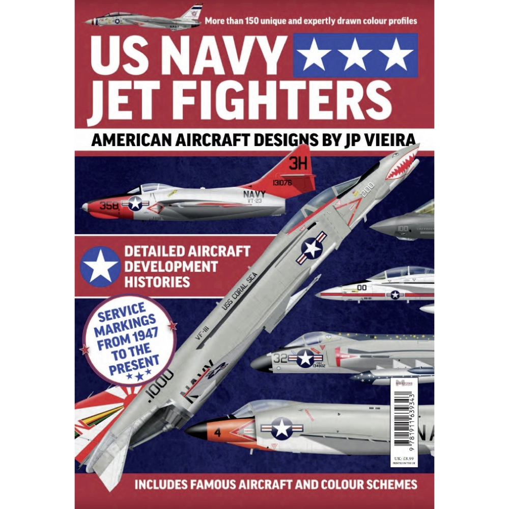 Bookazine - US Navy Jet Fighters