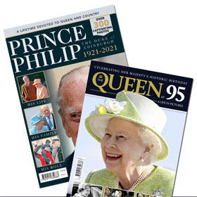Bundle - The Queen at 95 & Prince Philip 1921 - 2021