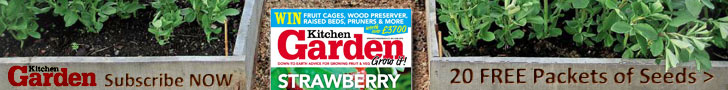 Kitchen Garden Magazine Subscription Offer