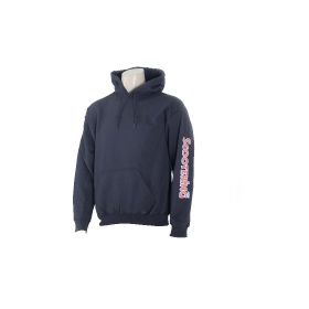 Scootering Arm Print Hoody Black