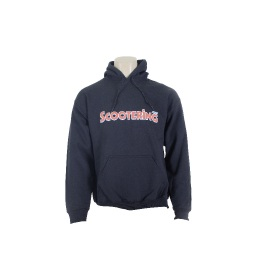 Scootering Chest Print Hoody Black