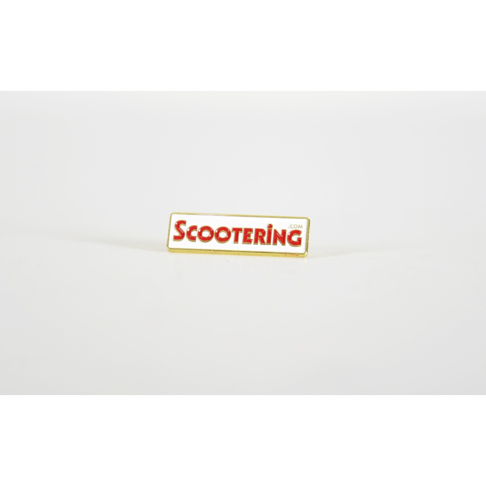 Scootering Enamel Pin Badge