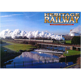 Card Pack of 4 Heritage Railway A6 Size