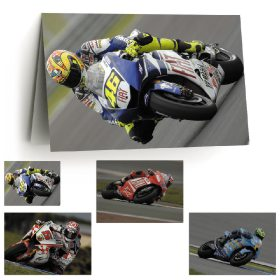 4x Greetings Cards: Modern Motorcycle Greats