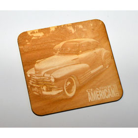 Classic American Coaster - Wooden - Car