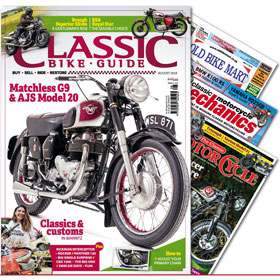 Classic Bike Guide August 2018 Value Pack - Including TCM CMM and OBM - £7.99