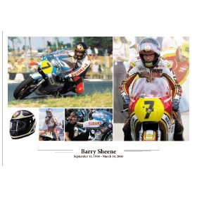 Barry Sheene - A3 Poster / Print
