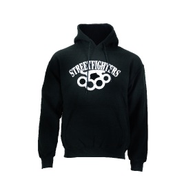 Streetfighters Hoody - Black